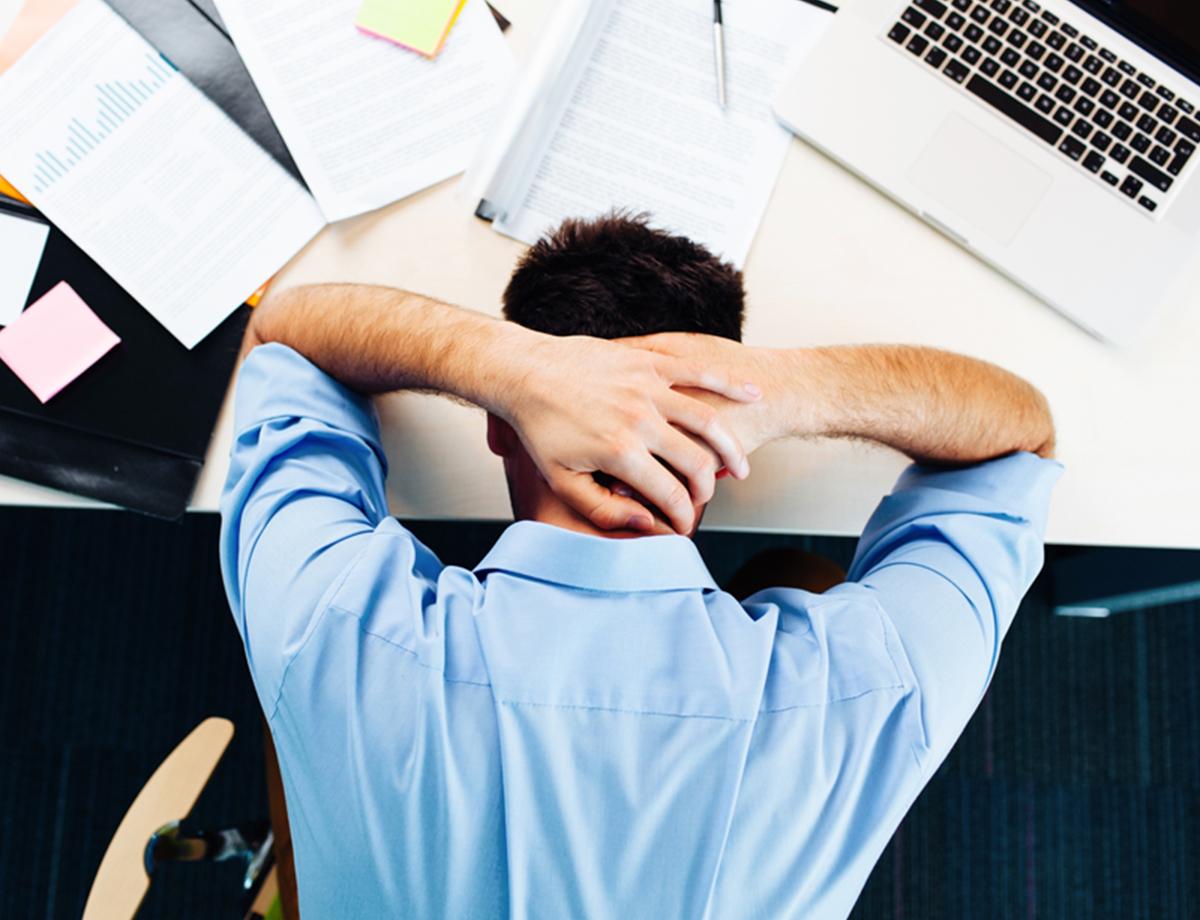 Umfrage Stress im Beruf ist größter Schlafräuber