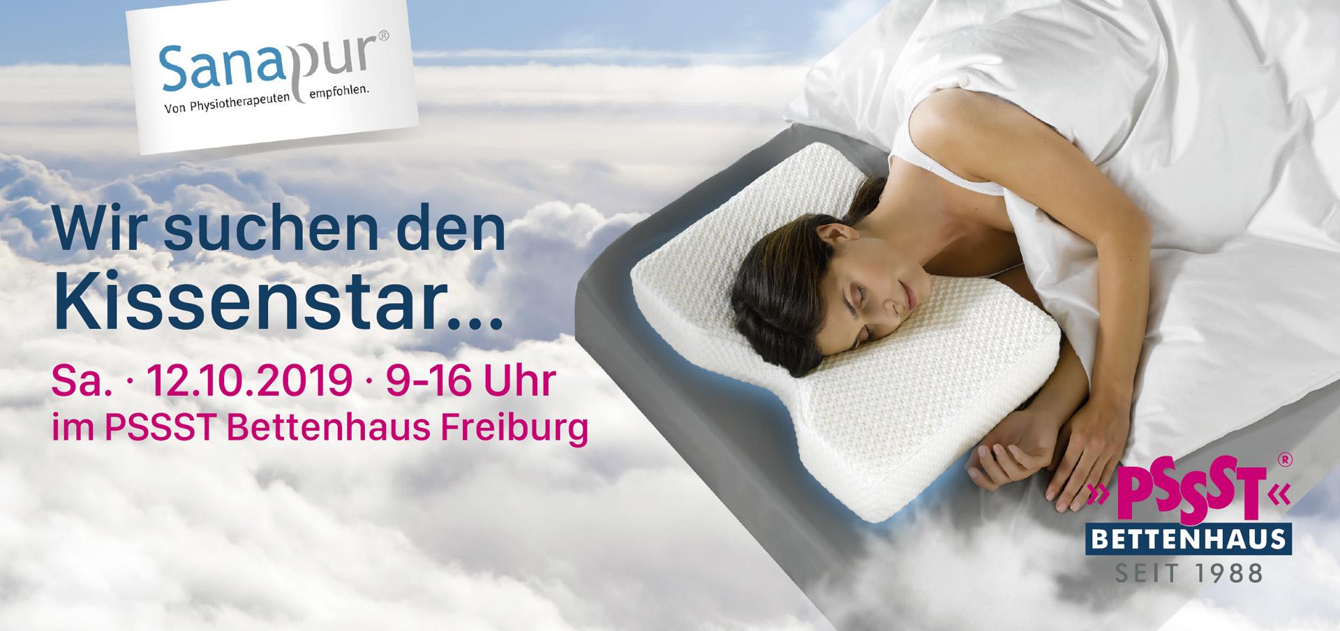 Sanapur Testschläfer Aktion Bettenhaus Freiburg