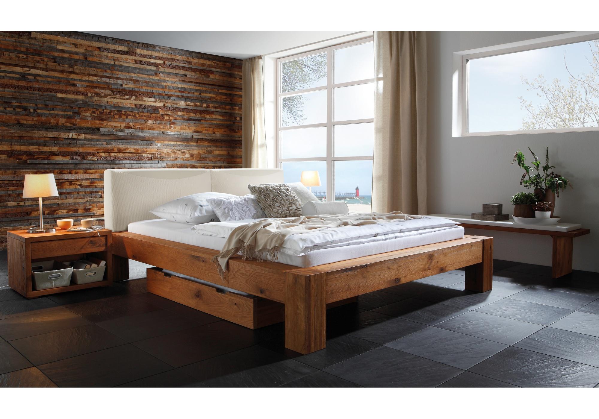 Hasena Oak-Wildeiche Massivholzbett 840_44293_2
