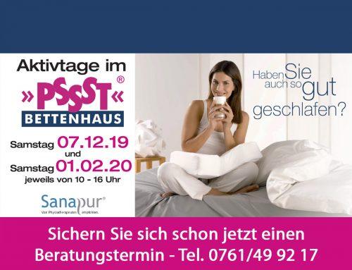 07.12.2019: Aktivtag im PSSST Bettenhaus Freiburg