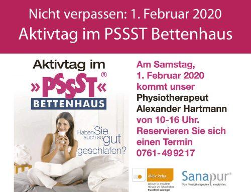 01.02.2020: Aktivtag im PSSST Bettenhaus Freiburg