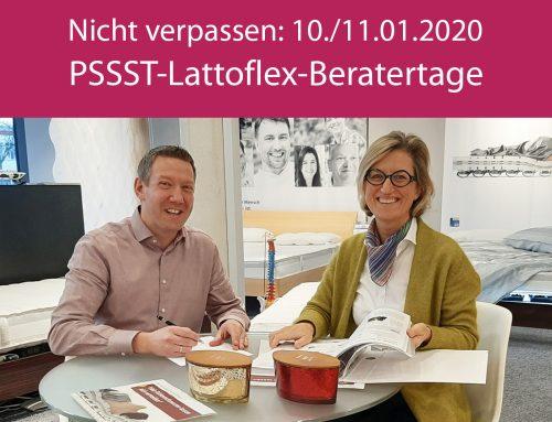 PSSST-Lattoflex-Beratertage 10./11.01.2020