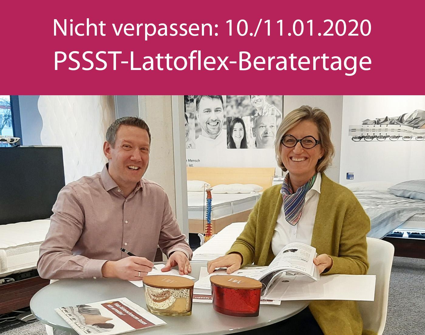 PSSST-Lattoflex-Beratertage 10-11.01.2020