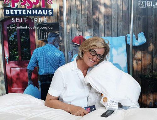 PSSST Bettenhaus Freiburg auf der BADEN MESSE 2019