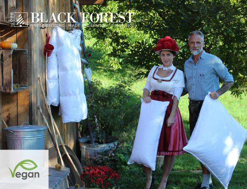 Vegane Zudecken und Kissen von OBB Black Forest