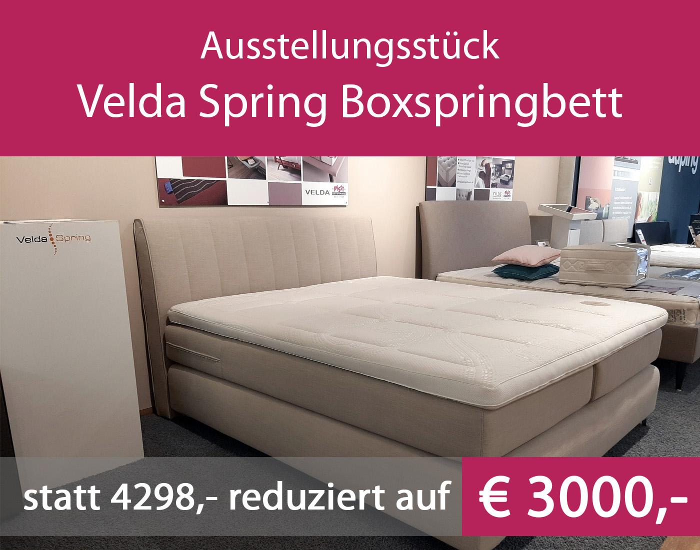 Ausstellungsstück Velda Spring 3C Pulse Boxspringbett