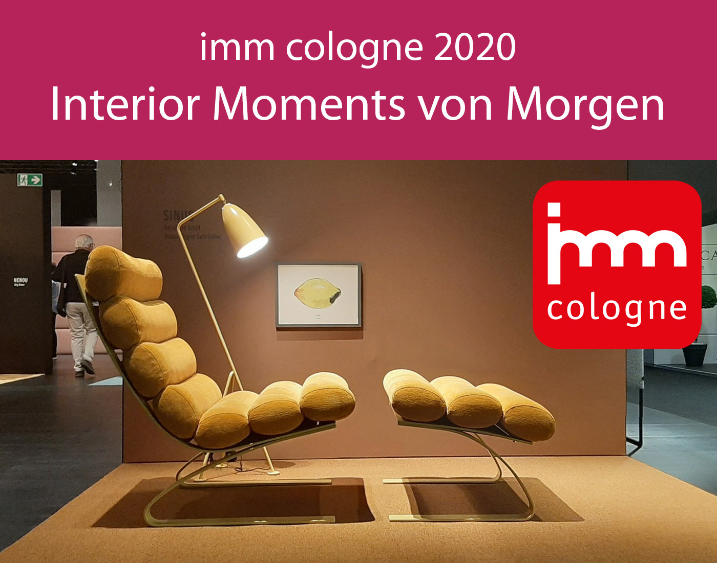 imm cologne 2020 - Interior Moments von Morgen