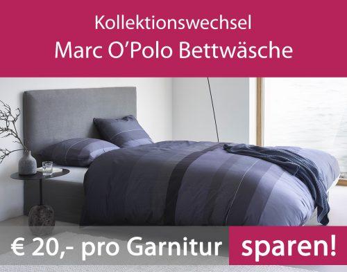 Angebot - Kollektionswechsel Marc O' Polo Bettwäsche