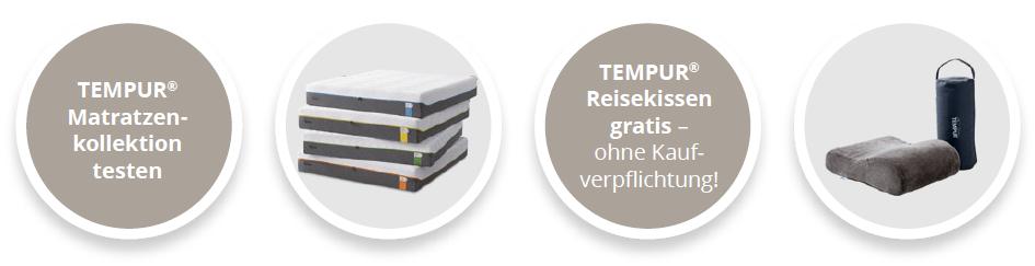 TEMPUR® Komfort-Testtage