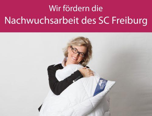 Wir fördern den Nachwuchs des SC Freiburg