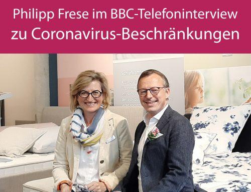 Philipp Frese auf BBC zur Wiedereröffnung für kleine Handelsbetriebe