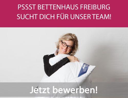 Stellenangebot: Teamkollege/in (m/w/d) für exklusives Bettenhaus in Freiburg gesucht