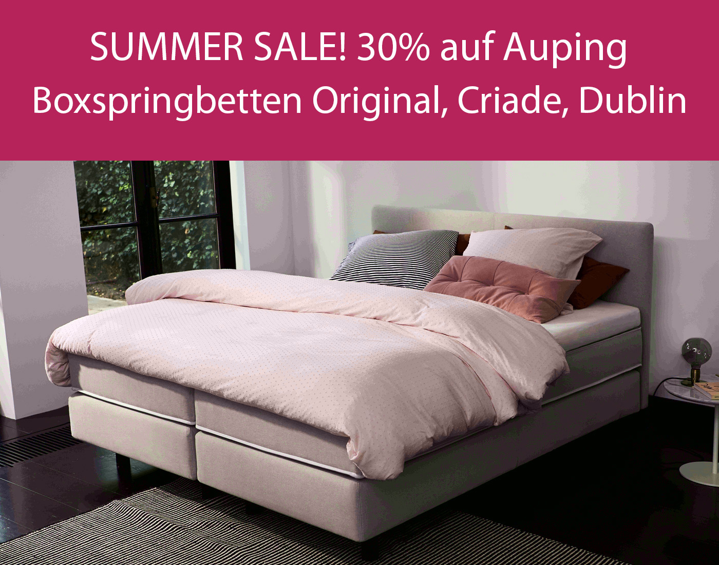 Summer Sale - Auping Boxspringbetten