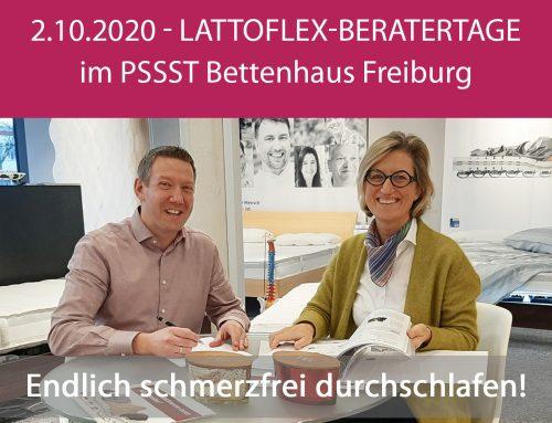 Lattoflex-Beratertage 2.10.2020