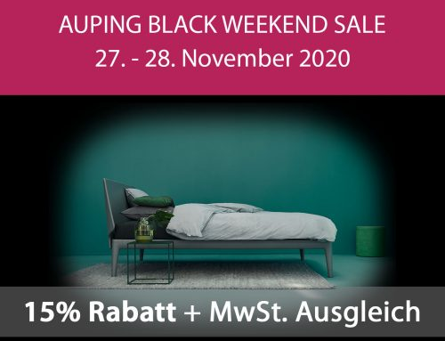 15% Rabatt – Auping Black Weekend Sale