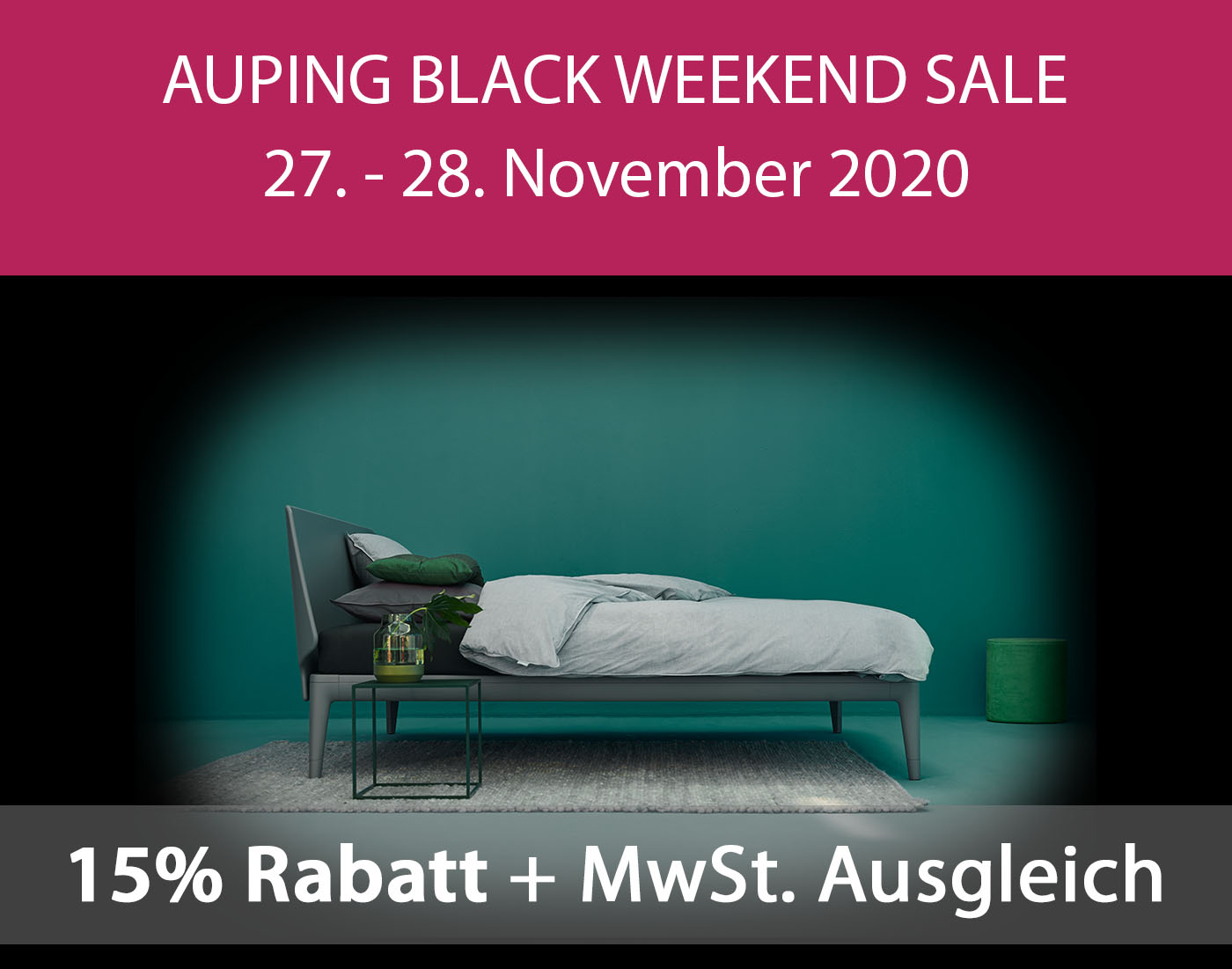 Auping Black Weekend Sale November 2020