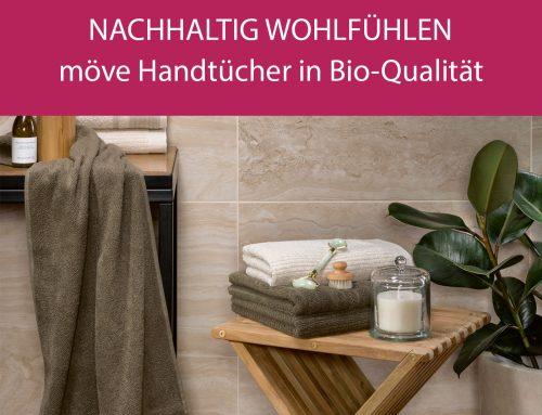 möve Bio-Handtücher Wohlfühl-Kollektion
