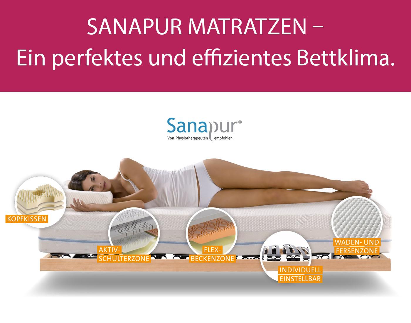 Sanapur Matratzen - ein perfektes und effizientes Bettklima