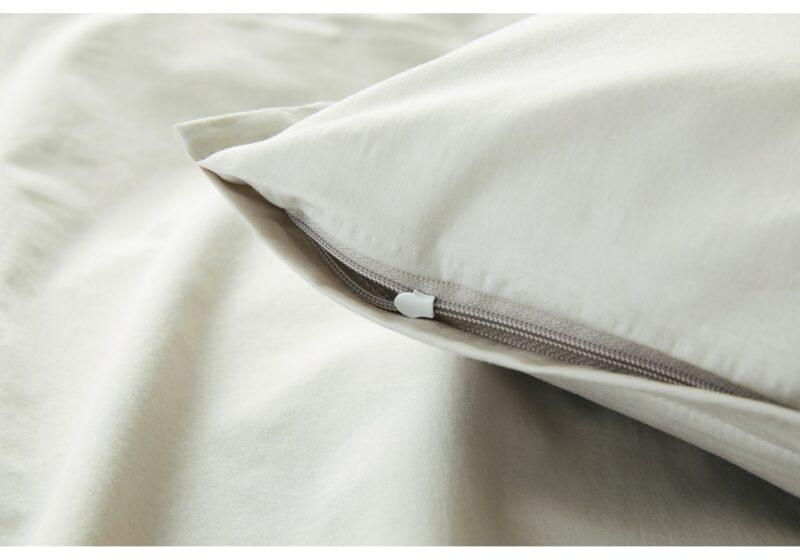 elegante Bettwäsche Crisp 7076-7Reißverschluss