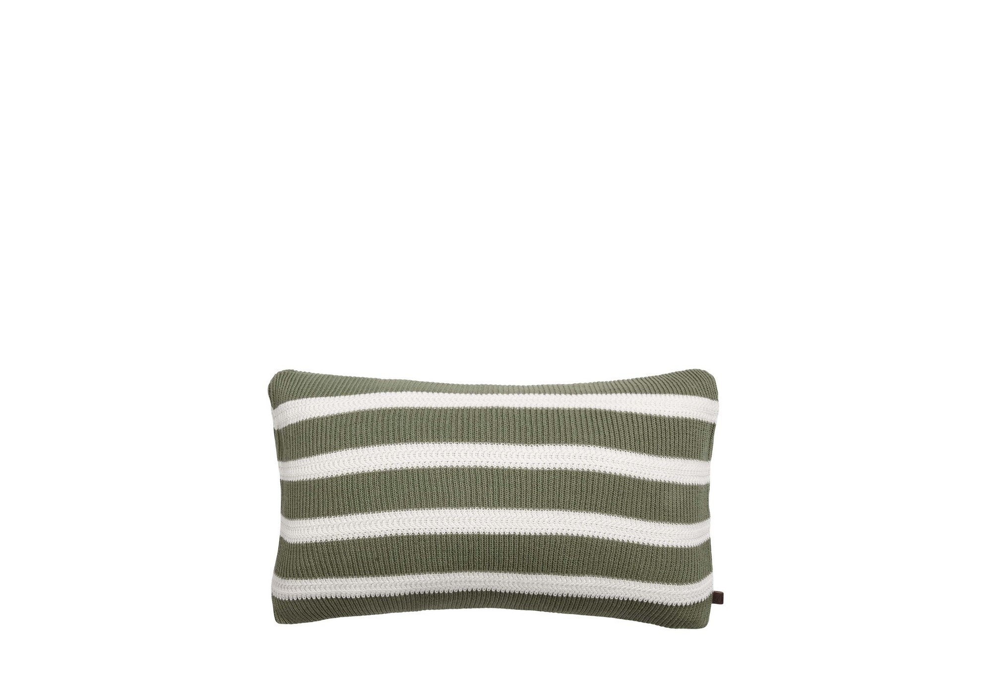 Marc OPolo STRUCTURE KNIT GARDEN GREEN CUSHION LR
