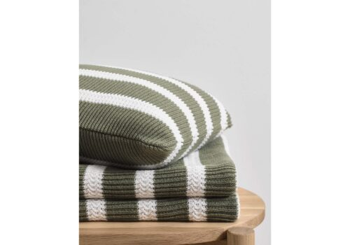 Marc OPolo STRUCTURE KNIT GARDEN GREEN PLAID SFEER 01 LR 2