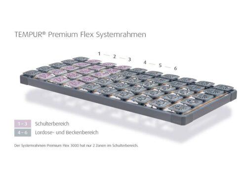tempur-premium-flex-700-xxl-rahmen-zoneneinteilung